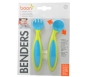 Boon Bender Adaptable Utensils Green/Blue - 1 Set