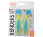 Boon Bender Adaptable Utensils Green/Blue - 1 Set