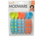 Boon Modware Toddler Utensils Blue/Dark Blue/Orange 6ct