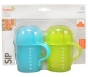 Boon Sip Short Spout Top Sippy Cup Green/Blue 7oz 2pack