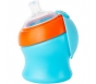 Boon Swig Tall Spout Top Sippy Cup Blue/Orange 7oz