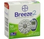 Bayer Breeze2 Glucose Test Strips- 50ct
