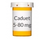 Caduet 5-80mg Tablets, 30 Count Bottle