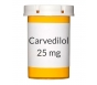 Carvedilol 25mg Tablets