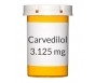 Carvedilol 3.125mg Tablets