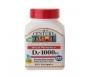 21st Century Vitamin D3 1000 IU Softgels, 250 Ct