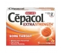 Cepacol Extra Strength Sore Throat Tangerine Lozenge- 16ct