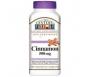 21st Century Cinnamon 500mg Caplets- 120ct