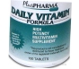 Daily Multivitamin Formula w/ Iron- 100 Tablets
