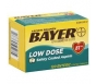 Bayer Aspirin Regimen Low Dose 81mg, Safety Coated Enteric Tablets- 120ct
