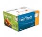 "EasyTouch Insulin Syringe 27 Gauge, .5cc, 1/2"" - 100ct"