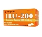 Major Ibuprofen 200mg White Tablets 100ct