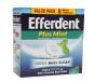 Efferdent Tablets Plus Mint - 44ct