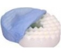 Essential Medical Support Cushion Invalid Ring (Donut) N8001 16 Inch Blue Cover