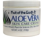 Fruit of the Earth Aloe Vera Skin Care Cream - 4oz Jar