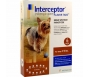 Interceptor Flavor Tabs 2.3mg (For Dogs 2-10lbs) - 6 Month Pack - Vet Rx