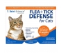 Flea & Tick Defense For Cats, 0.017 fl. oz (3 doses)