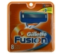 Gillette Fusion Razor Blades - 8 Cartridges