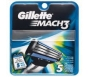 Gillette Mach3 Razor Blades - 5 Cartridges