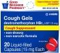 GNP Cough Relief Liquid Filled Capsules, 20ct