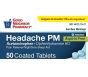 GNP Headache PM Pain Reliever/Sleep Aid Tablets 50ct