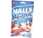 Halls Breezers Pectin Throat Drops Cool Creamy Strawberry 25 Drops