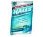 Halls Mentho-Lyptus Drops Sugar Free Assorted Mint  25 ea