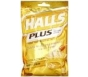 Halls Plus Honey/Lemon Menthol Center Cough Drops, 25ct