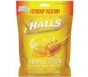 Halls Honey Lemon Cough Drops- 80ct