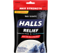 Halls Max Strength Relief Menthol Oral Anesthetic Drops, 30ct