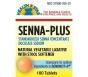 Health Star Senna Plus Natural Vegetable Stool Softener Laxative Tablets, 100 ct