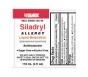 Silarx Siladryl Allergy Relief Liquid Medication, Antihistamine, 4 Oz