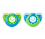 The First Years GumDrop Infant Pacifiers, Blue/Green - 2ct