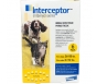 Interceptor Flavor Tabs 11.5mg (For Dogs 26-50lbs & Cats 6.1-12lb)- 6 Month Pack - Vet Rx