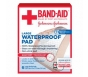 Johnson & Johnson BandAid Waterproof Pads, Large - 6ct