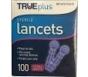TRUEplus Sterile Lancets 33 Gauge- 100ct