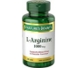 Nature's Bounty L-Arginine 1000 mg Amino Acid Supplement Tablets - 50ct