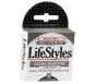 Lifestyles Ultra Sensitive Condoms Latex Lubricated 3ct