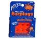 Macks Pillow Soft Earplugs Kids Size Orange  6 Pairs (NRR 22)