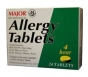 Allergy Chlorate 4mg Tablets- 24ct