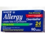 Non-Drowsy Allergy 10mg Tablets- 90ct