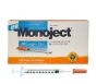 "Monoject Insulin Syringe 28 Gauge, 1/2cc, 1/2""- 100ct"