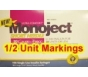 "Monoject Ultra Comfort Insulin Syringe 30 Gauge, 3/10cc, 5/16"" with 1/2 Unit Markings- 100ct"