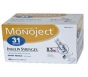 Monoject Ultrafine U-100 Insulin Syr 31 Gauge 3/10cc 5/16 inch Needle ( 1/2 Unit Markings) 100/Box