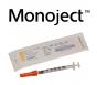 "Monoject Ultra Comfort Insulin U-100 Syringe 30 Gauge, 3/10cc, 5/16"" with 1/2 Unit Markings- 100ct"