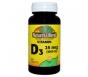 Nature's Blend Vitamin D3 25mcg (1000IU) Value Size 300ct Tablets