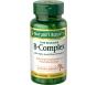 Nature's Bounty B-complex With Folic Acid Plus Vitamin C Tablets 125ct