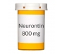 Neurontin 800mg Tablets