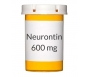 Neurontin (Generic Gabapentin) 600mg Tablets