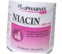 Niacin 500mg Tablets- 100 Count Bottle